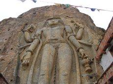 Скальный храм в Мулбеке