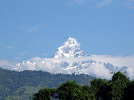 Непал, Покхара, г. Мачхапучхаре
