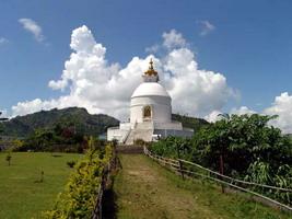 Непал, \Покхара, Пагода Мира